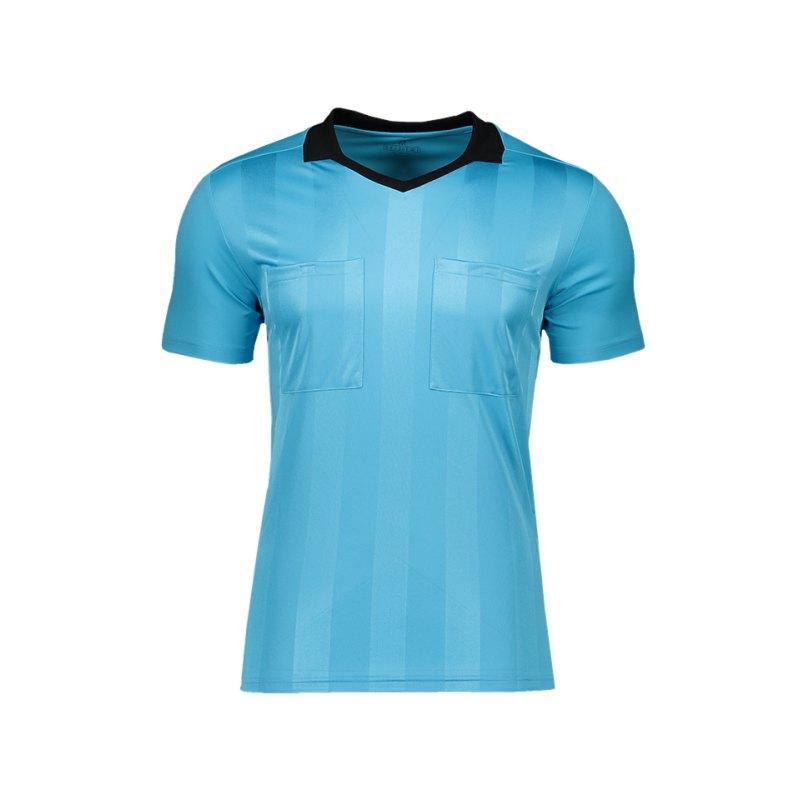 adidas Referee 18 Trikot kurzarm Blau - blau