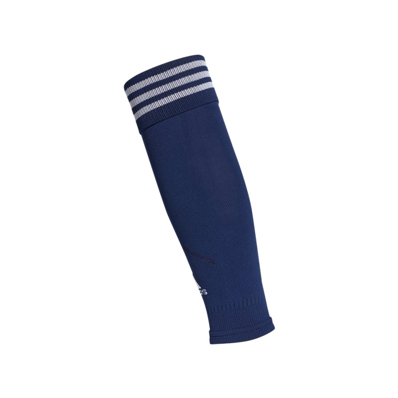 adidas Compression Sleeve Dunkelblau Weiss - blau