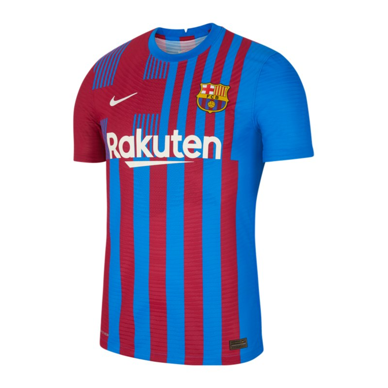 Nike FC Barcelona Auth. Trikot Home 2021/2022 F428 - blau