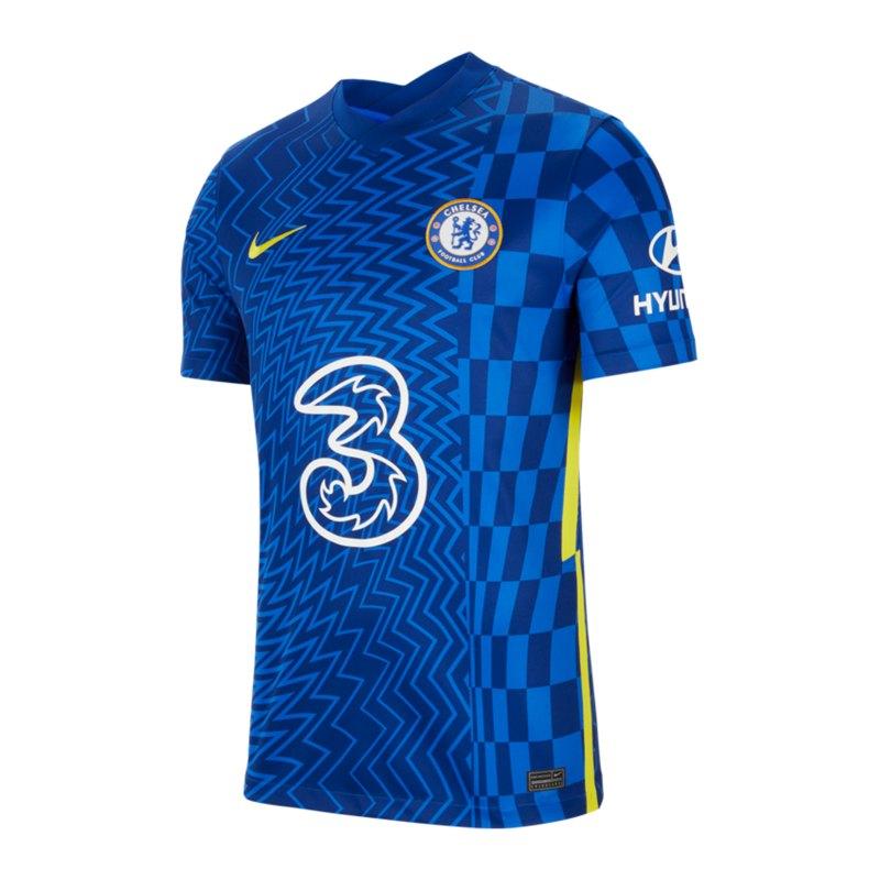 Nike FC Chelsea London Trikot Home 2021/2022 F409 - blau