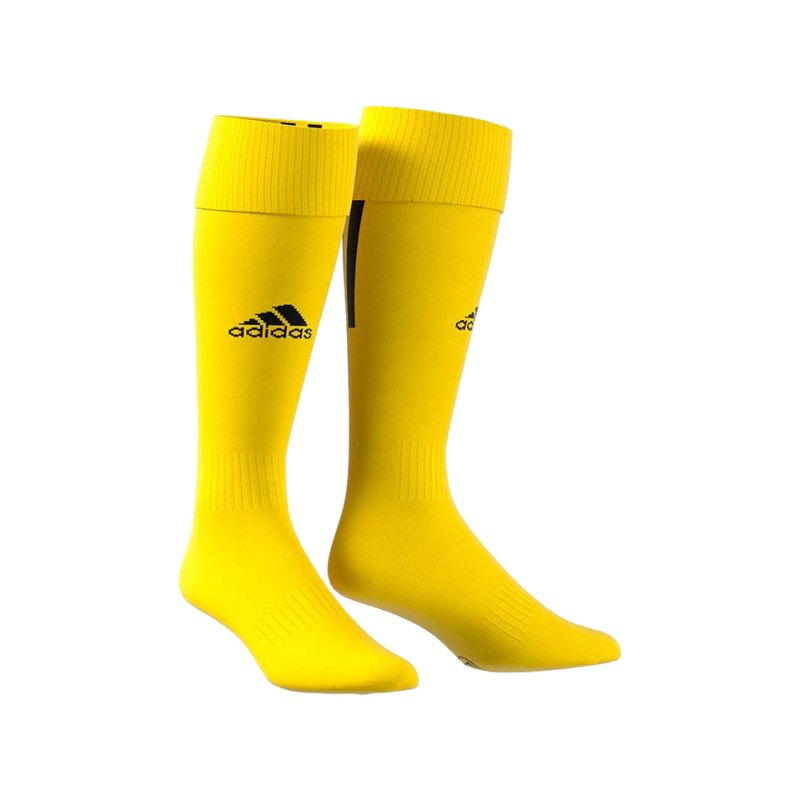 adidas Santos 18 Stutzenstrumpf Gelb Schwarz - gelb