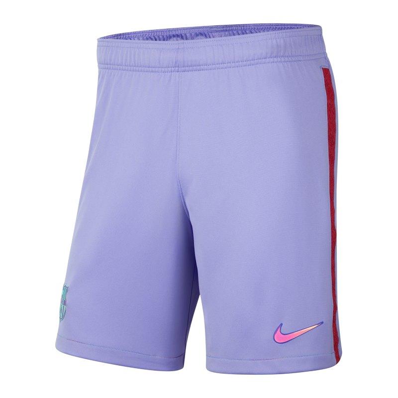 Nike FC Barcelona Short Away 2021/2022 Lila F580 - lila