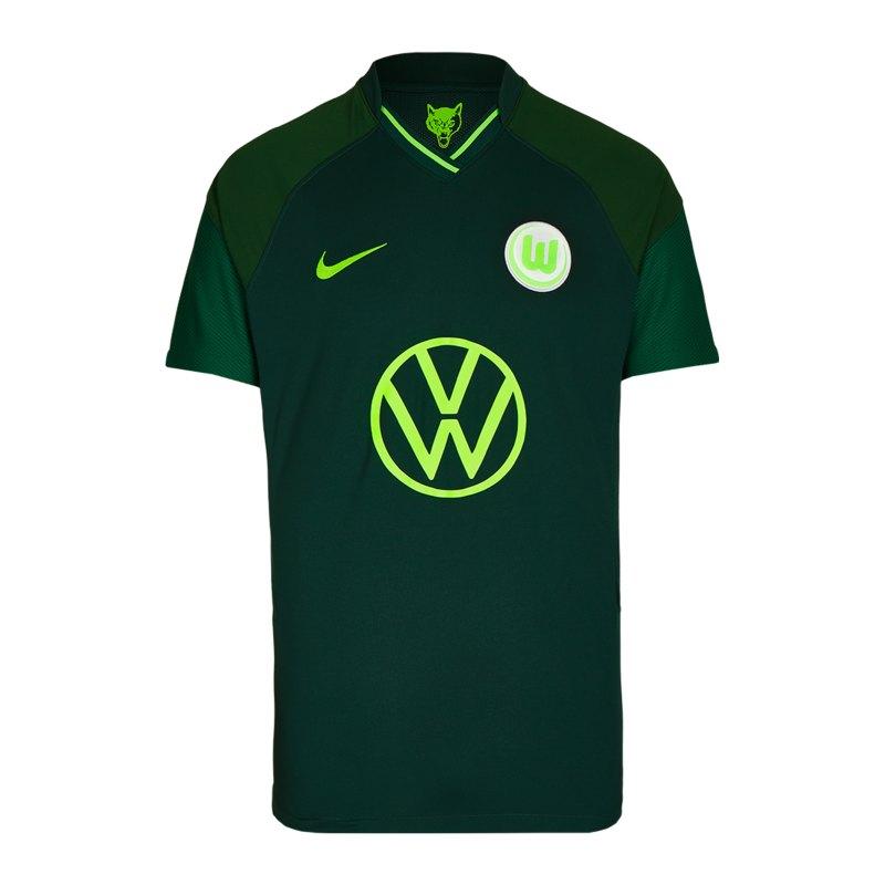 Nike VfL Wolfsburg Trikot Away 2021/2022 Kids F398 - gruen
