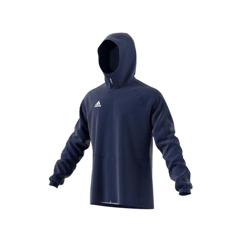 adidas Condivo 18 Rainjacket Regenjacke Dunkelblau - blau