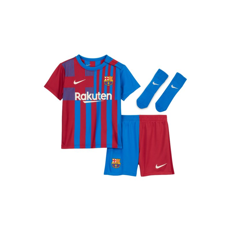Nike FC Barcelona Babykit Home 2020/2021 F428 - blau