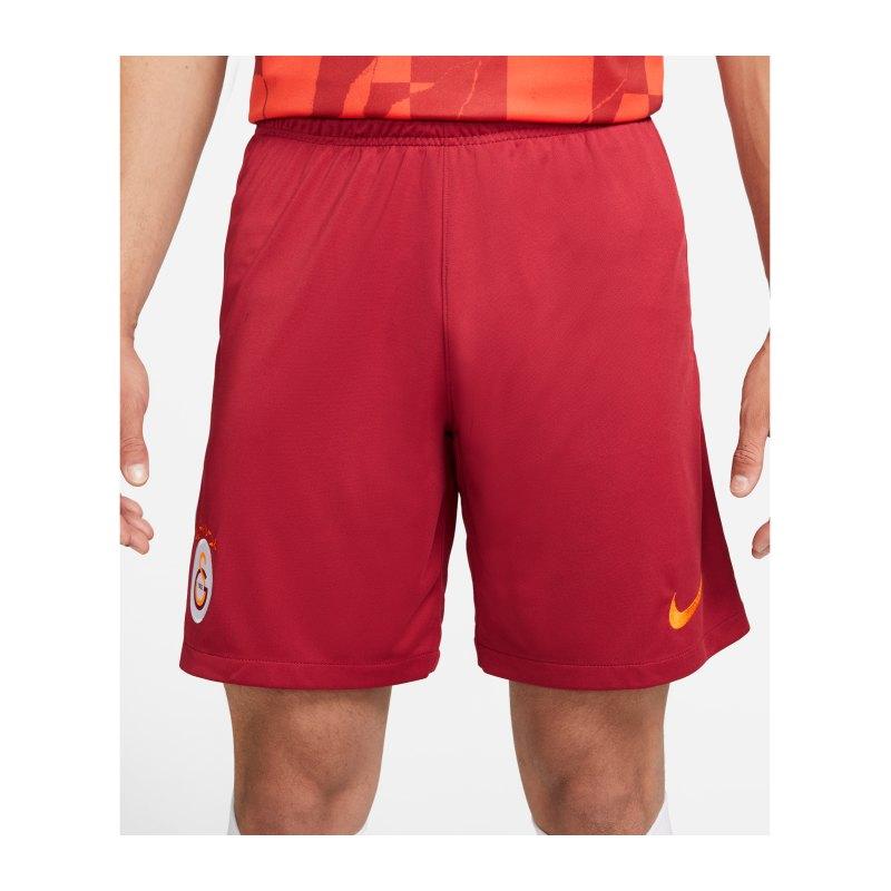 Nike Galatasaray Istanbul Short Home Away 2021/2022 Kids F628 - rot