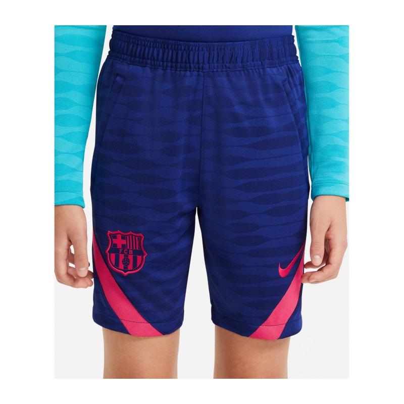 Nike FC Barcelona Strike Short Kids F455 - blau