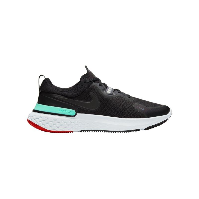 Nike React Miler Running Schwarz Grau F013 - schwarz