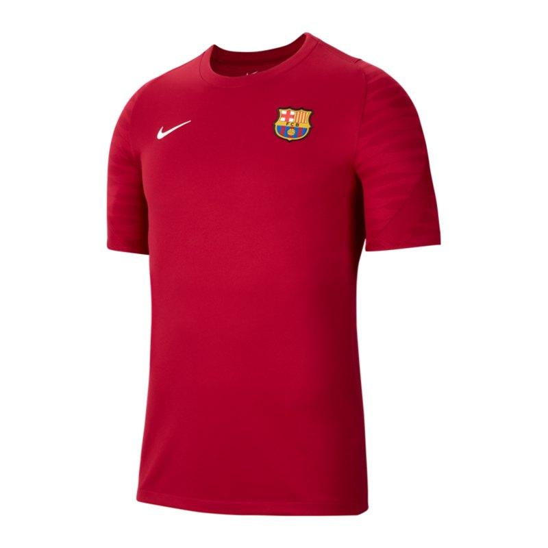 Nike FC Barcelona Strike T-Shirt Rot F621 - rot