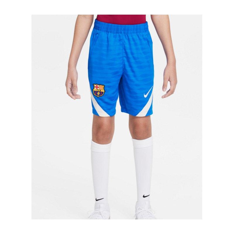 Nike FC Barcelona Strike Short Kids F427 - blau