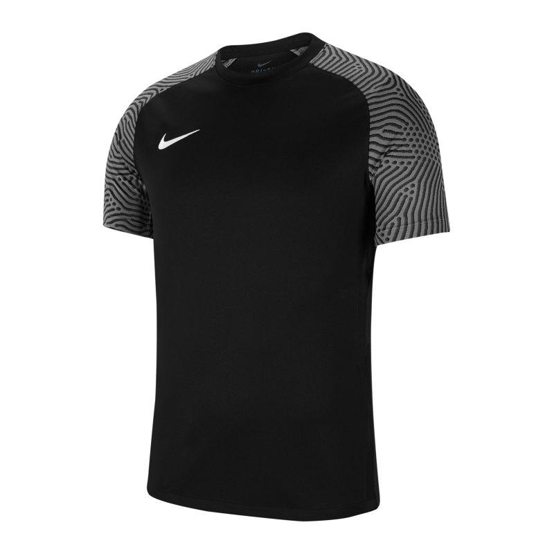 Nike Strike II Trikot kurzarm Schwarz Weiss F010 - schwarz