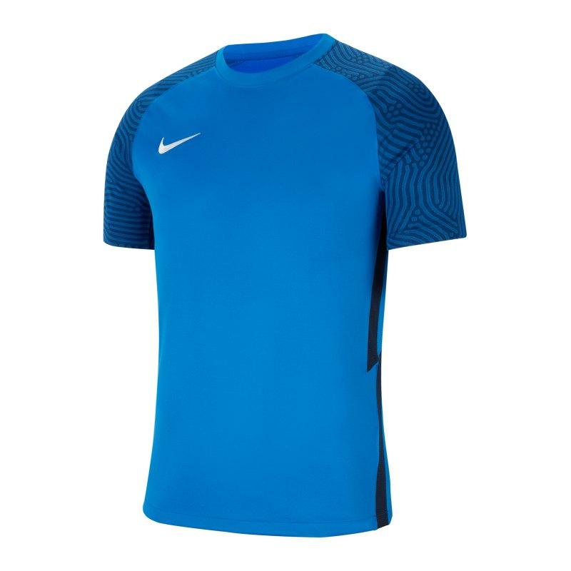 Nike Strike II Trikot kurzarm Kids Blau Weiss F463 - blau