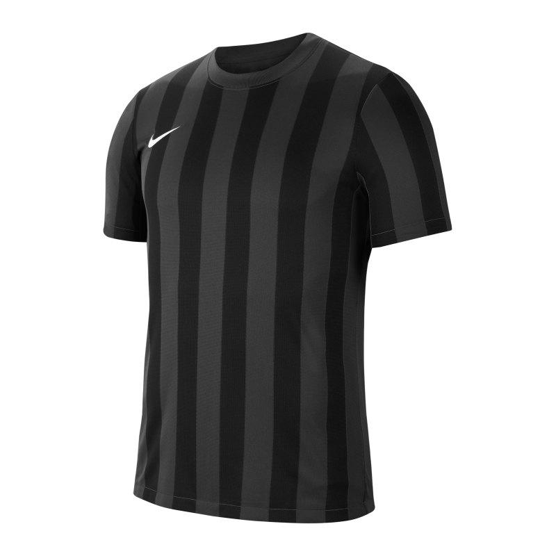 Nike Division IV Striped Trikot kurzarm Grau F060 - grau