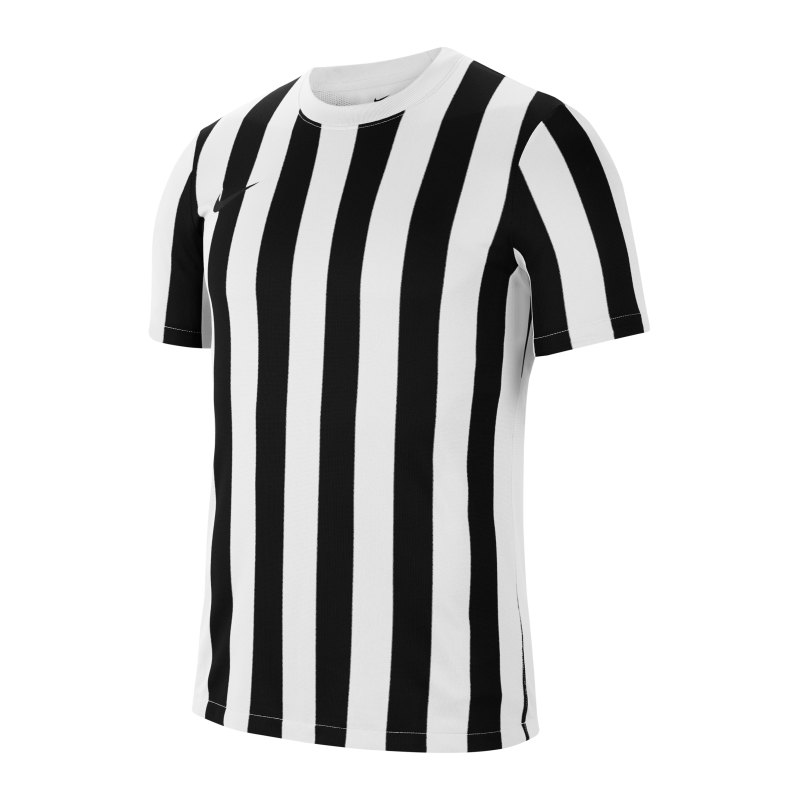 Nike Division IV Striped Trikot kurzarm Weiss F100 - weiss