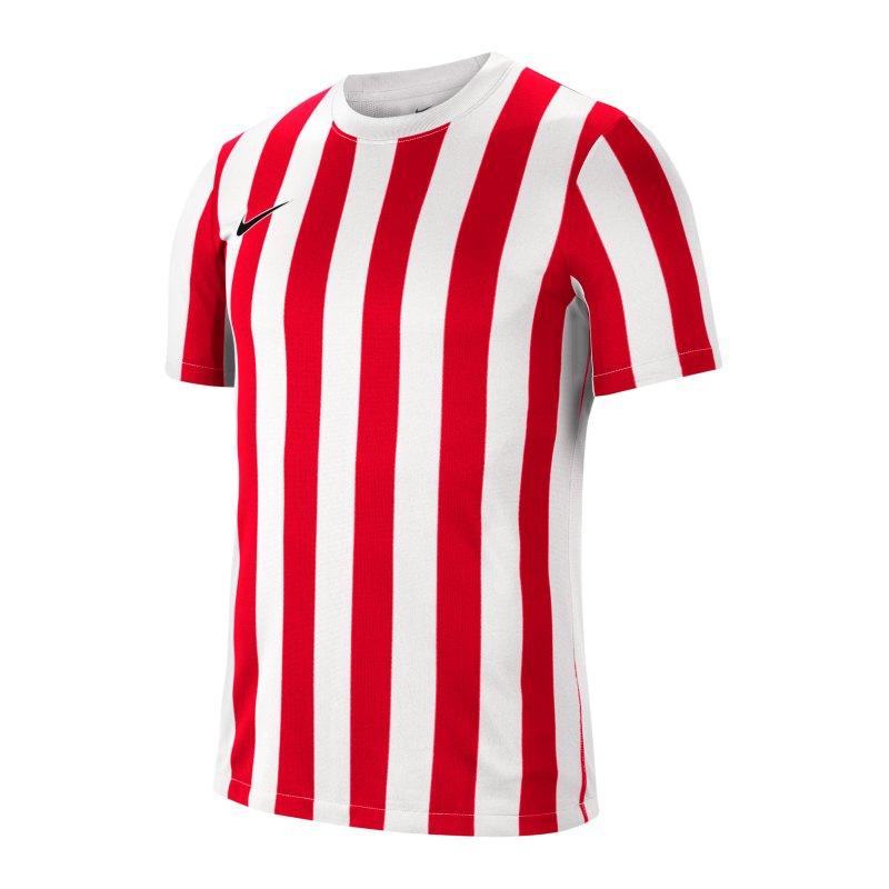 Nike Division IV Striped Trikot kurzarm Weiss F104 - weiss