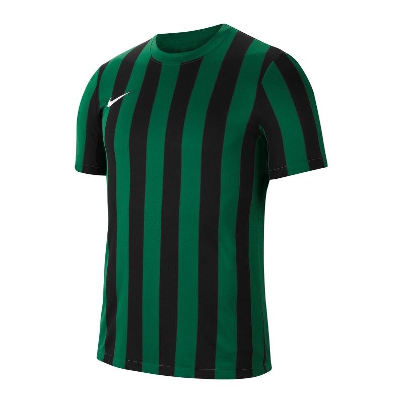 Nike Division IV Striped Trikot kurzarm Kids F302 - gruen