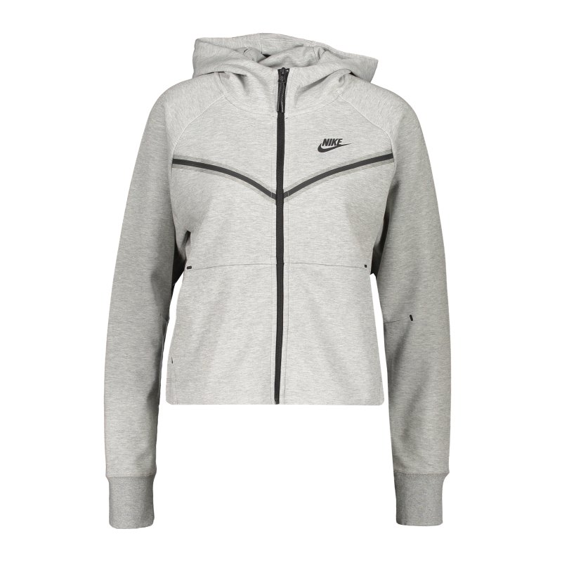 Nike Tech Fleece Windrunner Damen Grau F063 - grau