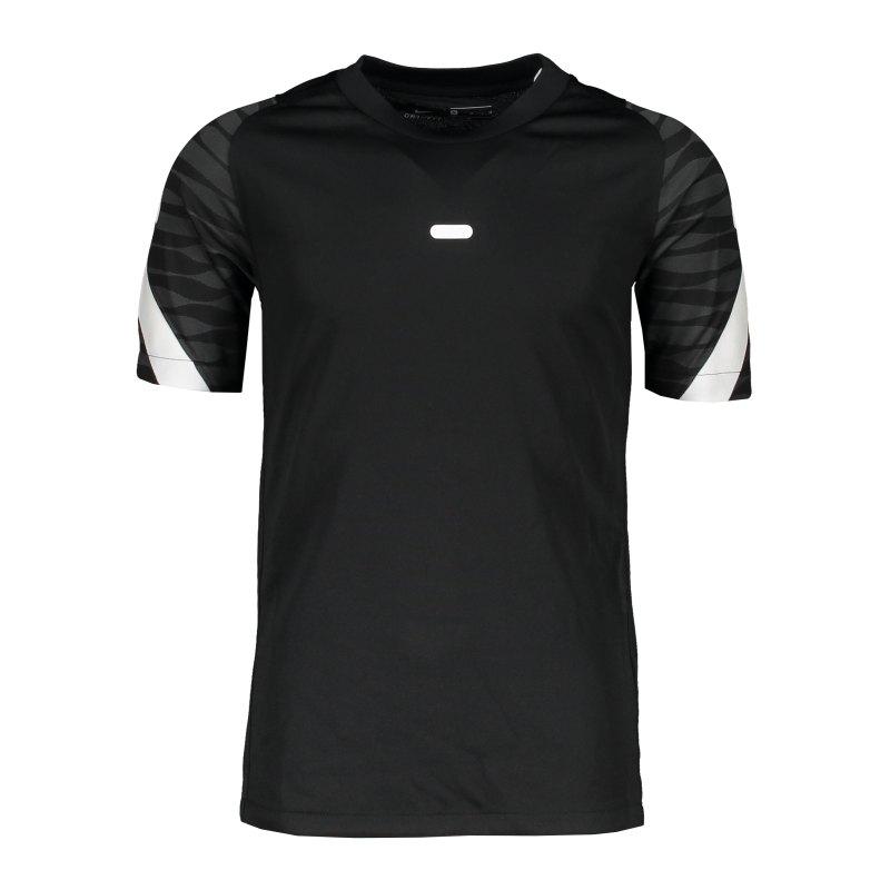 Nike Strike 21 T-Shirt Kids Schwarz F010 - schwarz