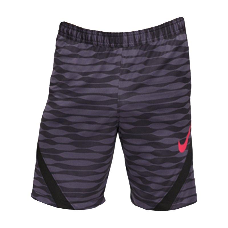 Nike Strike 21 Knit Short Schwarz Lila F012 - schwarz
