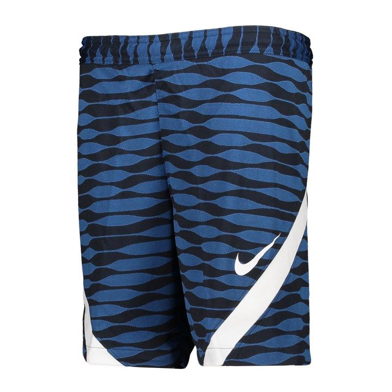 Nike Strike 21 Short Kids Blau Weiss 451 - blau
