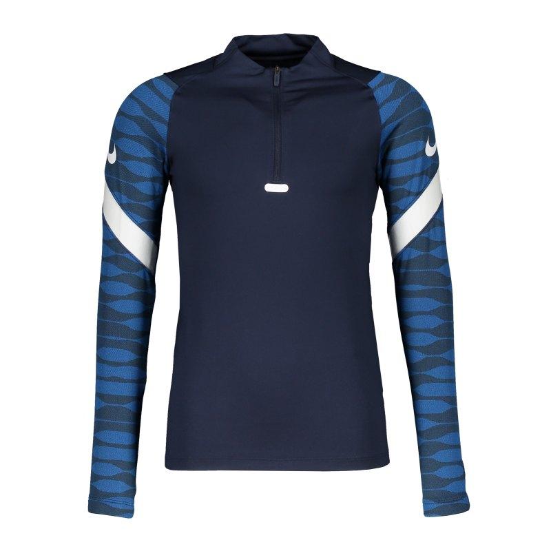 Nike Strike 21 Drill Top Kids Blau Weiss F451 - blau