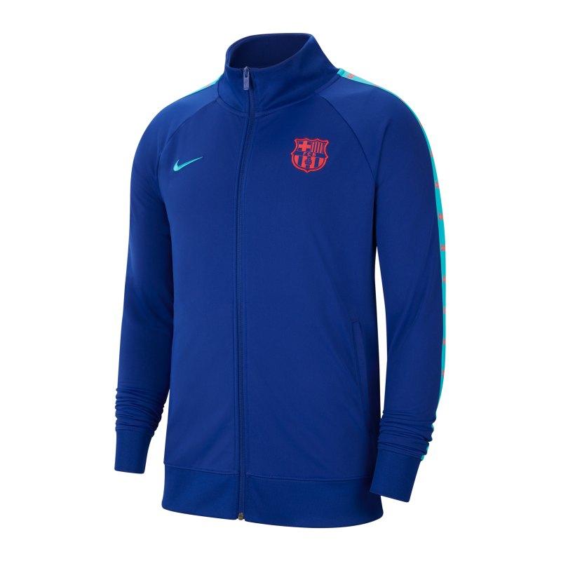 Nike FC Barcelona JDI Trainingsjacke Blau F455 - blau