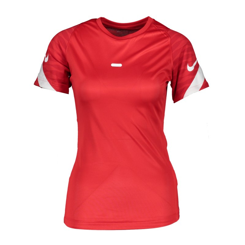 Nike Strike 21 T-Shirt Damen Rot Weiss F657 - rot