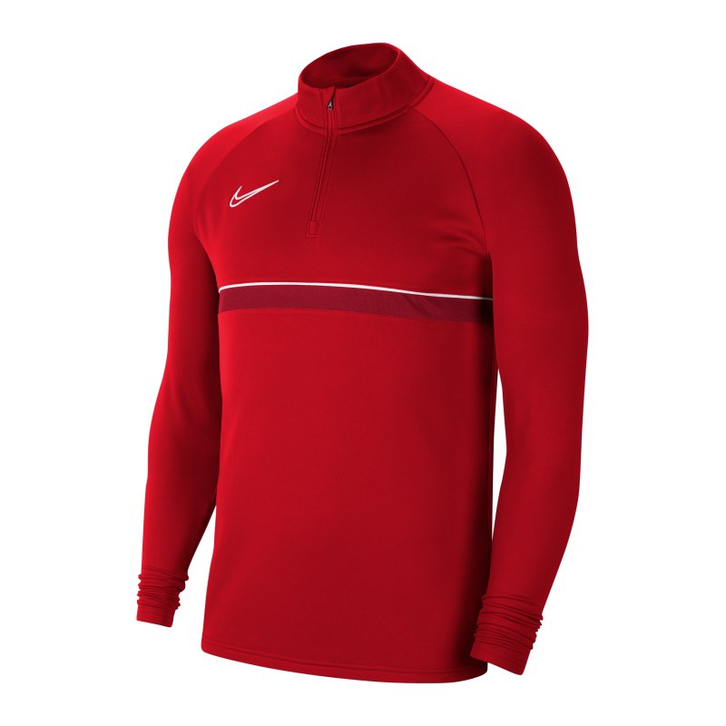 Nike Academy 21 Drill Top Rot Weiss F657 - rot