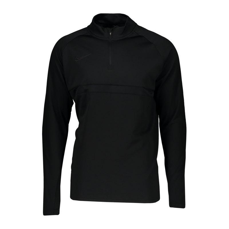 Nike Academy 21 Drill Top Schwarz F011 - schwarz