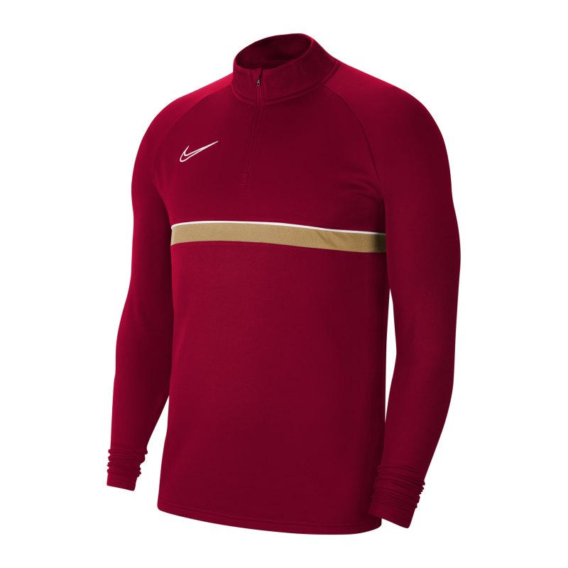 Nike Academy 21 Drill Top Kids Rot Weiss F677 - rot