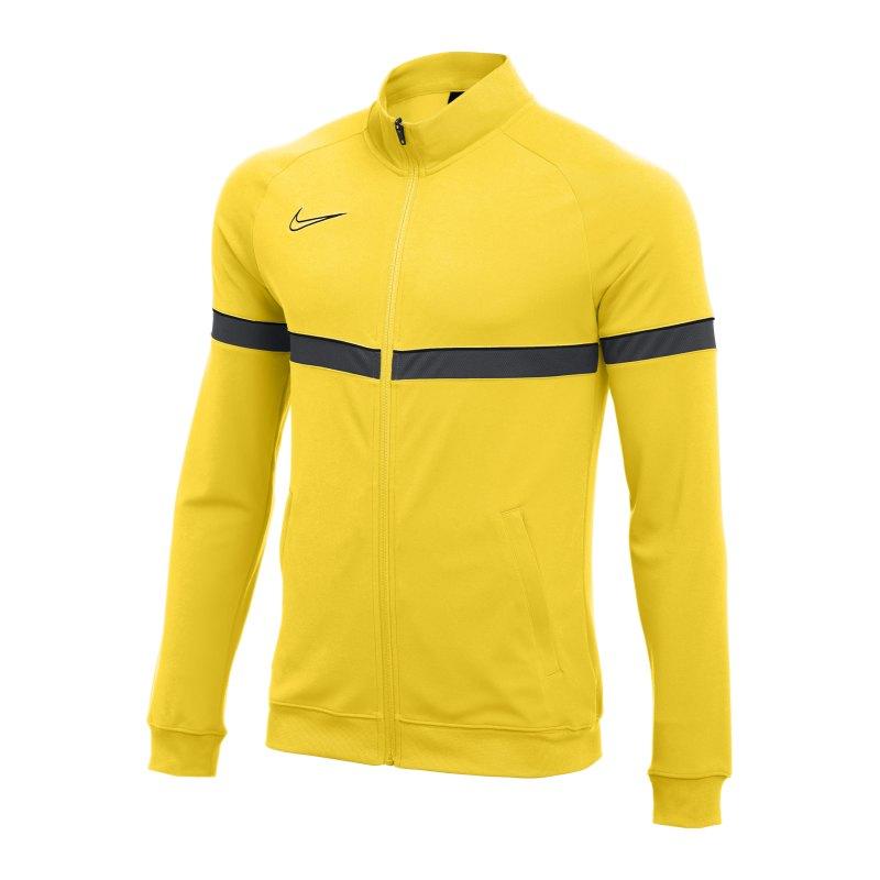 Nike Academy 21 Knit Trainingsjacke Gelb F719 - gelb