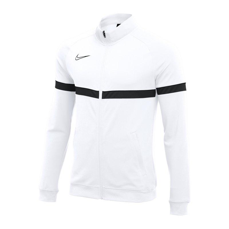 Nike Academy 21 Knit Trainingsjacke Weiss F100 - weiss