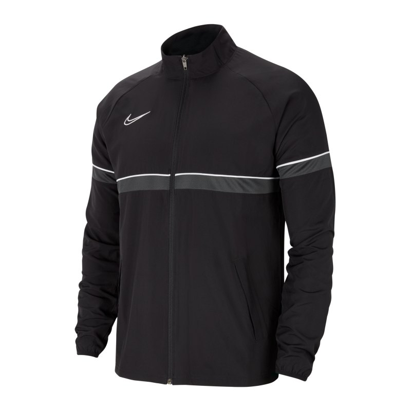 Nike Academy 21 Woven Trainingsjacke Kids F014 - schwarz