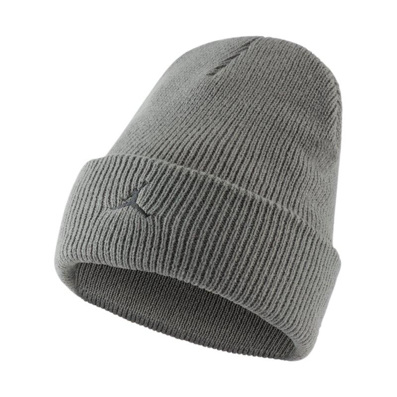Nike Cuffed Beanie Grau F084 - grau