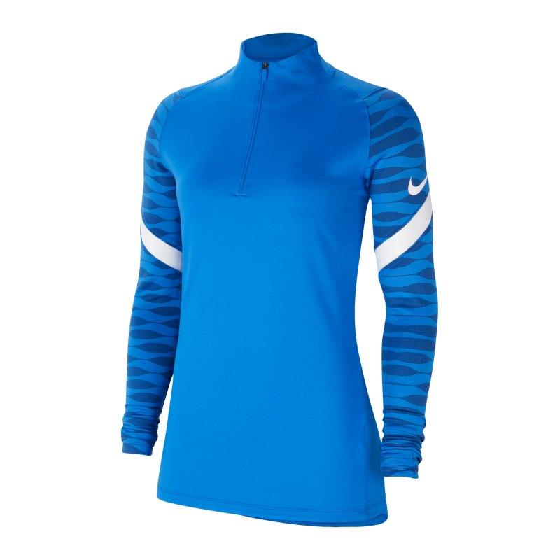 Nike Strike 21 Drill Top Damen Blau F463 - blau