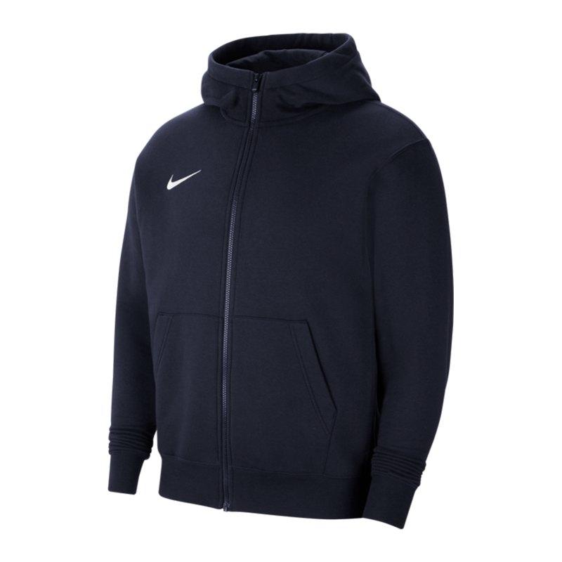 Nike Park 20 Fleece Kapuzenjacke Kids Blau F451 - blau