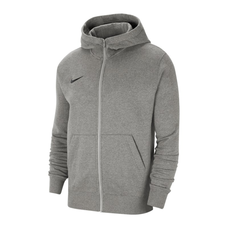 Nike Park 20 Fleece Kapuzenjacke Kids Grau F063 - grau