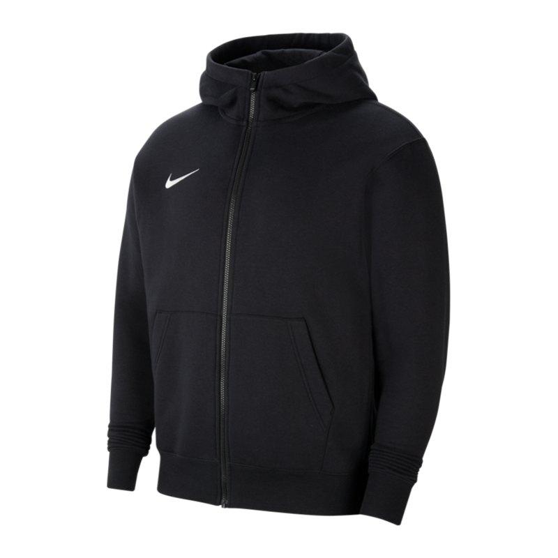 Nike Park 20 Fleece Kapuzenjacke Kids Schwarz F010 - schwarz