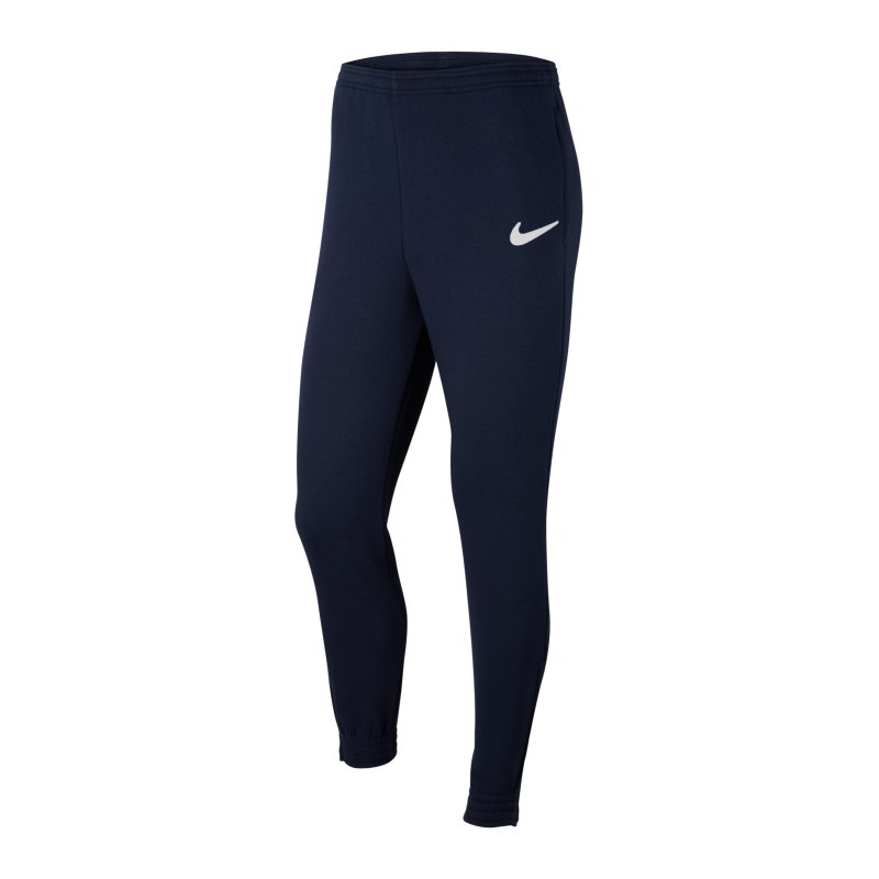 Nike Park 20 Fleece Jogginghose Blau Weiss F451 - blau