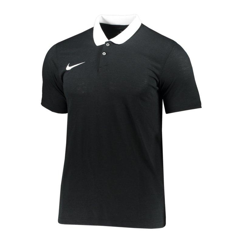 Nike Park 20 Poloshirt Schwarz Weiss F010 - schwarz