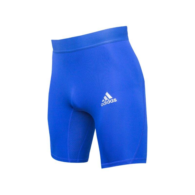 adidas Alphaskin Sport Short Blau - blau