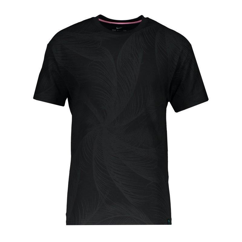 Nike FC Barcelona Wave T-Shirt Schwarz F010 - schwarz