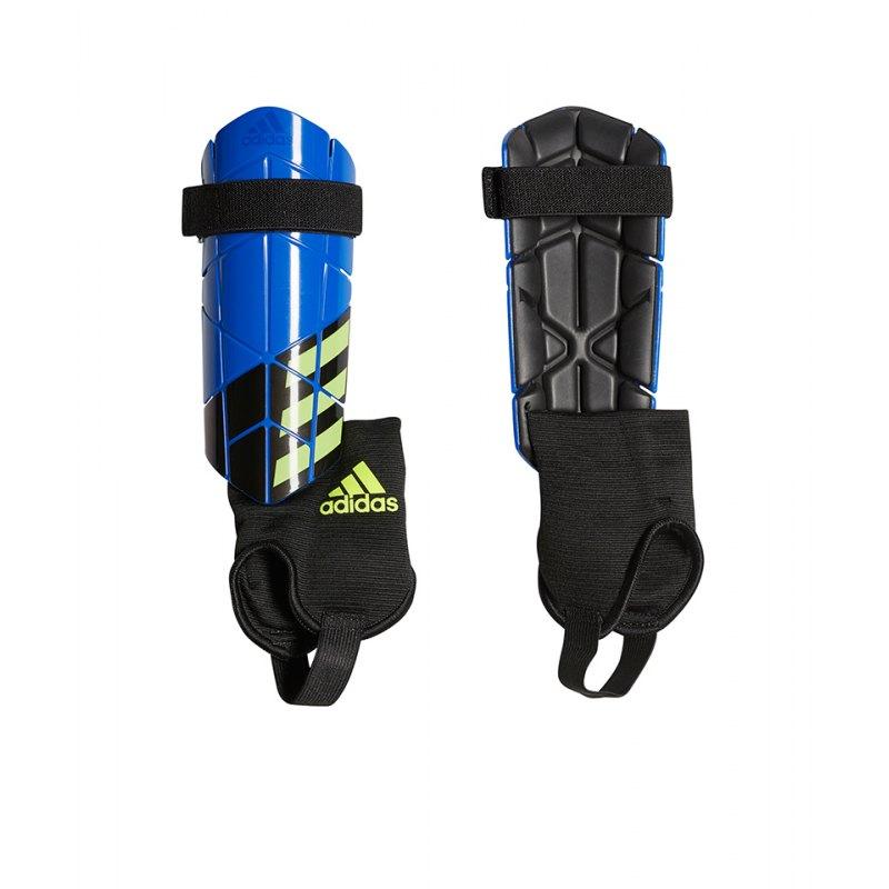 adidas X Reflex Schienbeinschoner Blau Schwarz - blau