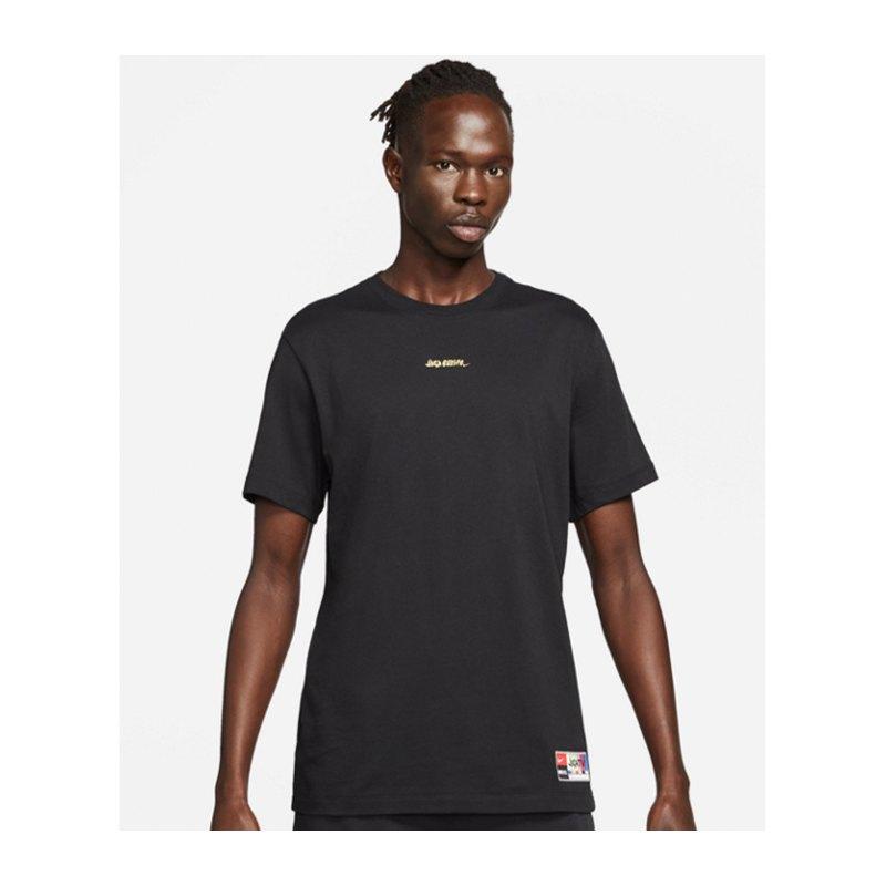 Nike F.C. LBR Joga Bonito T-Shirt Schwarz F010 - schwarz