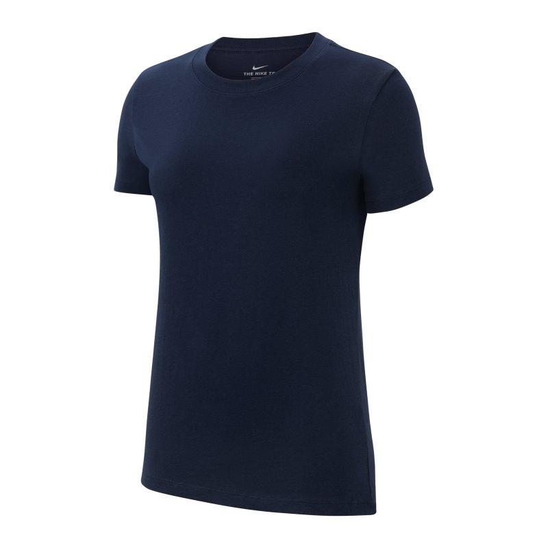 Nike Park 20 T-Shirt Damen Blau Weiss F451 - blau