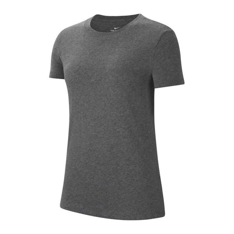 Nike Park 20 T-Shirt Damen Grau Weiss F071 - grau