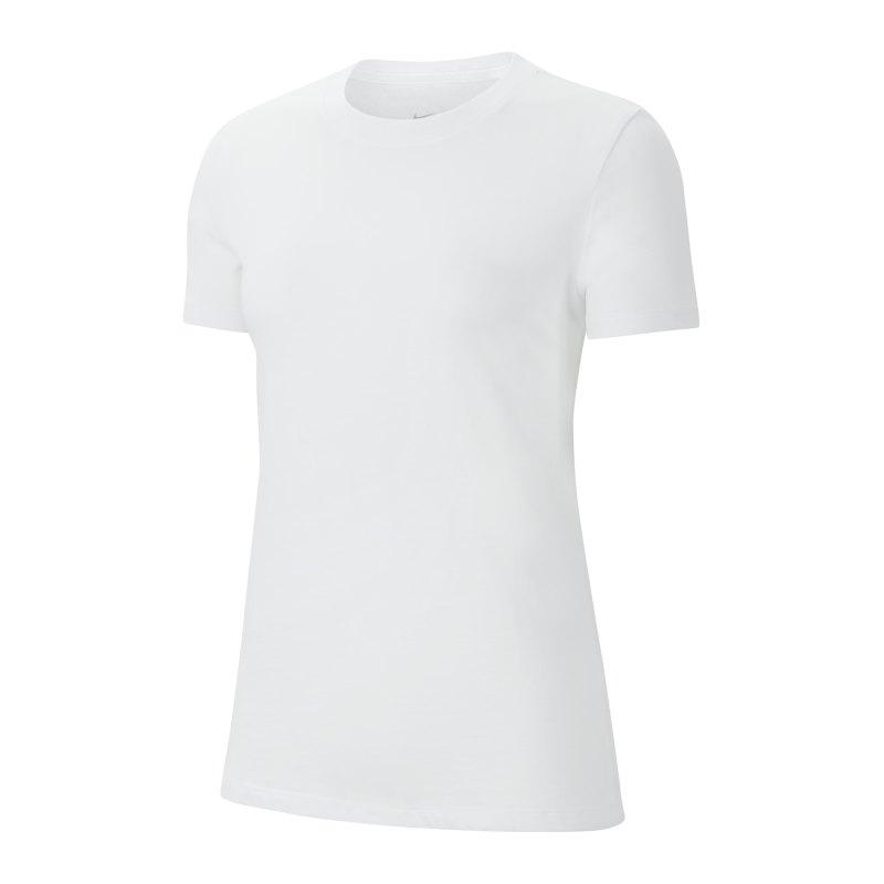 Nike Park 20 T-Shirt Damen Weiss F100 - weiss