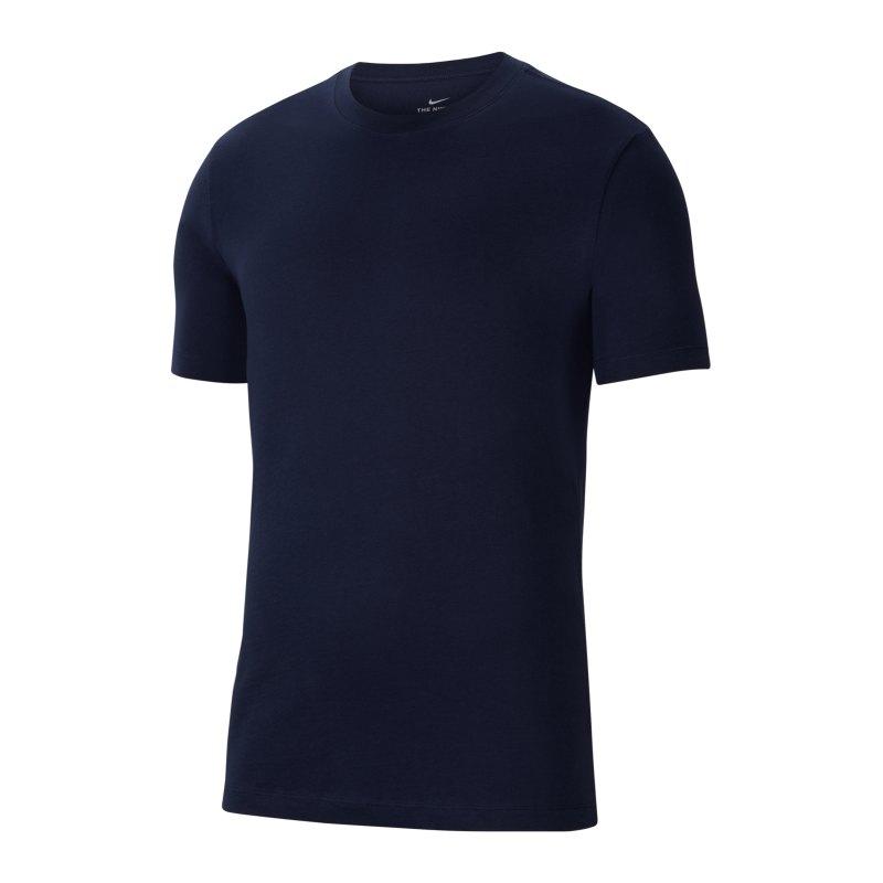 Nike Park 20 T-Shirt Kids Blau Weiss F451 - blau