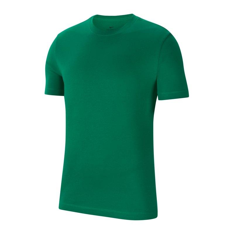 Nike Park 20 T-Shirt Kids Grün Weiss F302 - gruen