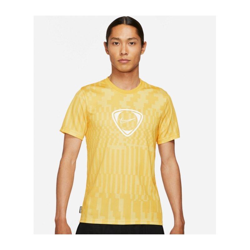 Nike Academy Dri-FIT T-Shirt Summer Artist F700 - gelb